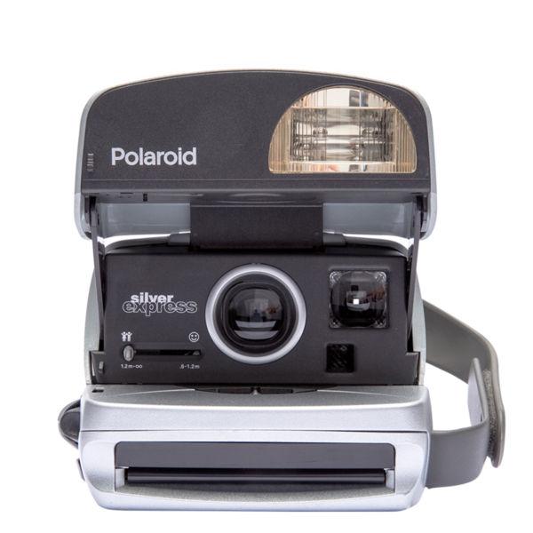 Polaroid Refurbished 90s Style 600 Camera ROUND