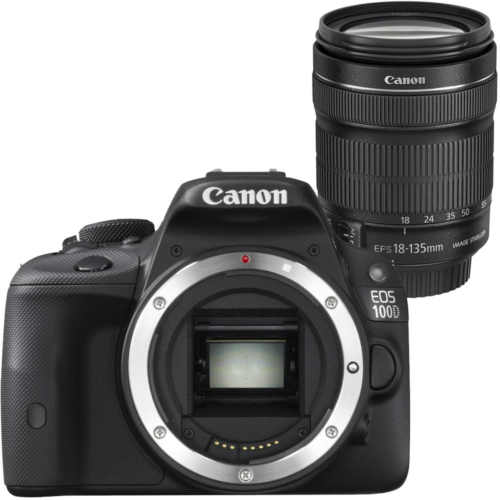 Image of Canon EOS 100D + 18-135mm iS STM