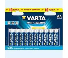 Image of 1x10 Varta High Energy Mignon AA LR 6