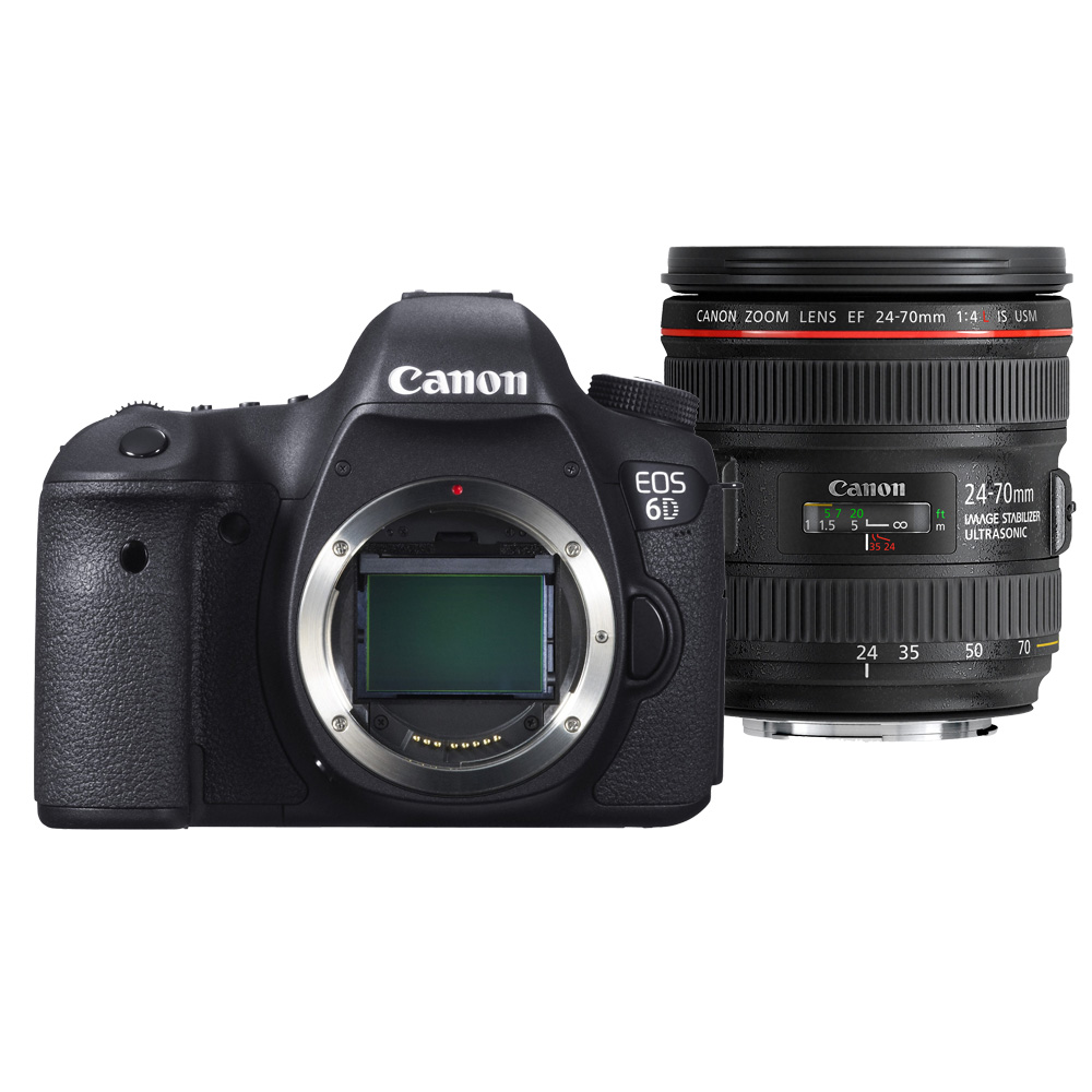Image of Canon EOS 6D + 24-70mm F/4.0 L iS USM
