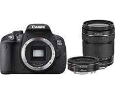 Image of Canon EOS 700D + 18-135mm iS STM + 40mm F/2.8 STM
