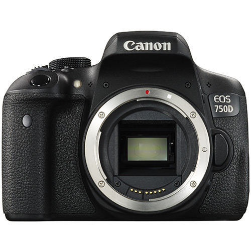 Image of Canon Camera Body EOS 750D 24.2 Megapixel