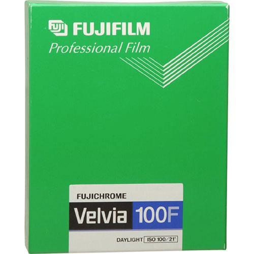 Image of 1 Fujifilm Velvia 100 4x5 20 vel