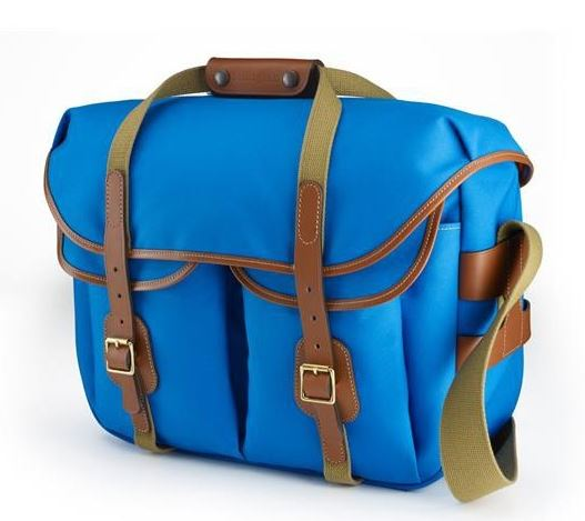 Image of Billingham Hadley Large Pro Blue/Tan