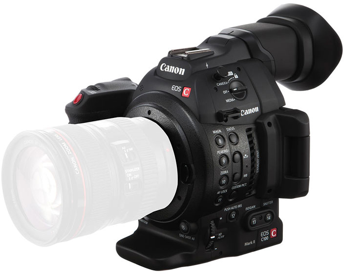 Image of Canon EOS C100 mark II body