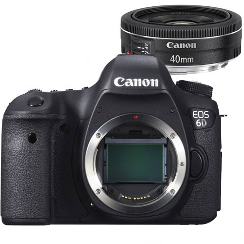 Image of Canon Eos 6D + 40mm f 2.8 STM