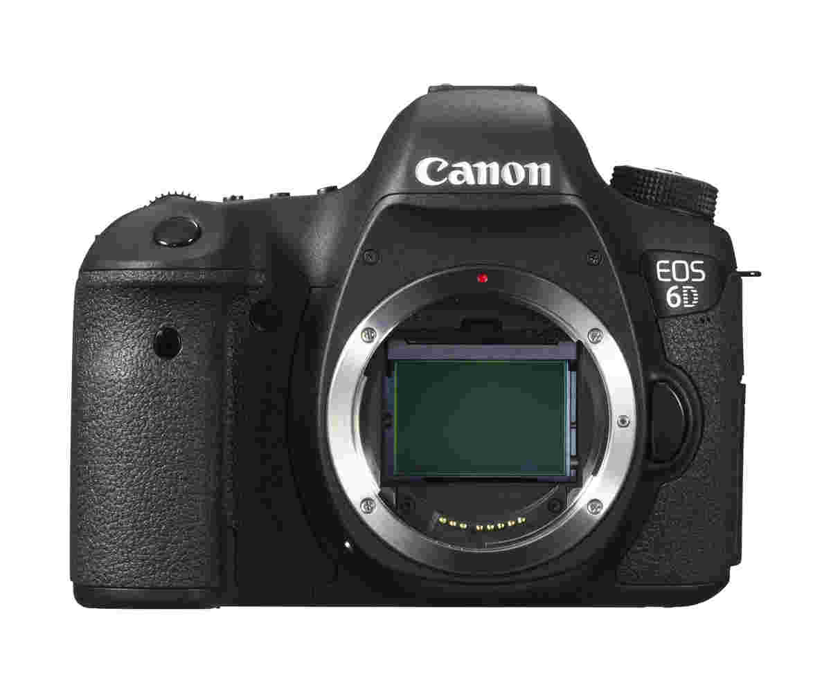 Image of Canon EOS 6D body