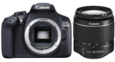 Image of Canon EOS 1300D + 18-55mm DC III