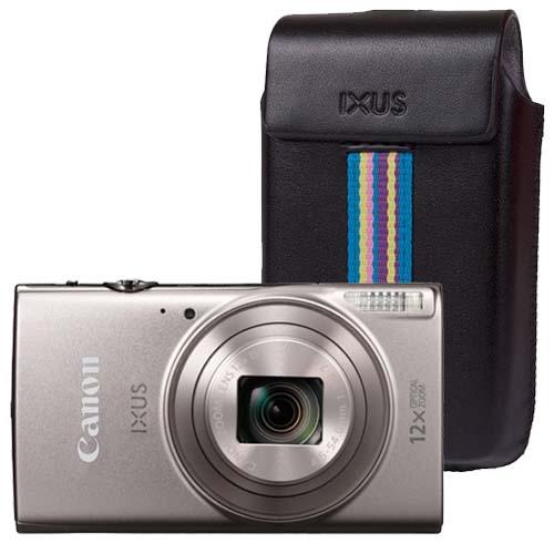 Canon iXUS 285 HS zilver + GRATIS Tas