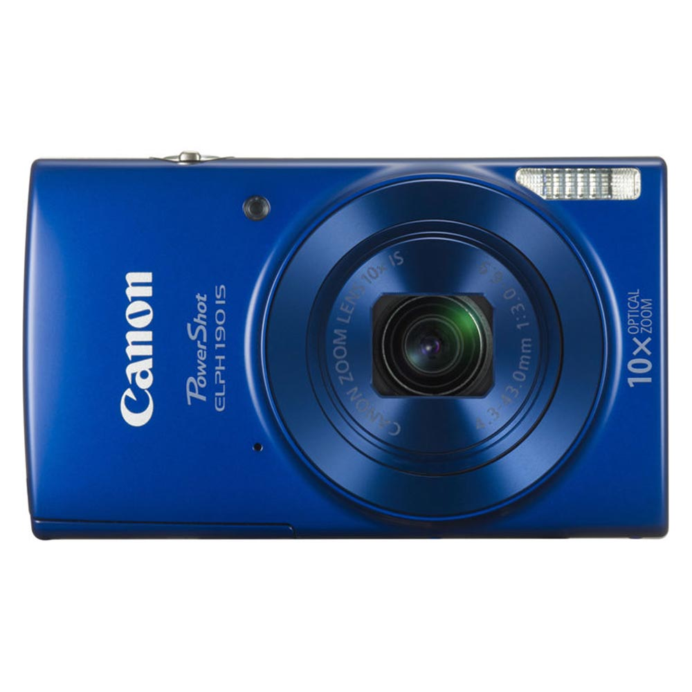 "Image of Canon Digital IXUS 190 20MP 1/2.3"""" CCD 5152 x 3864Pixels Blauw"