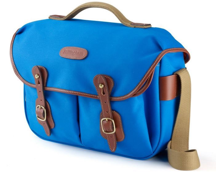 Image of Billingham Hadley Pro Blue/Tan