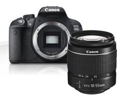Image of Canon EOS 700D + 18-55mm DC III