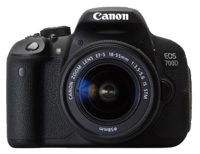 Image of Canon Camera Kit EOS 700D 18.0 Megapixel + 18-55mm