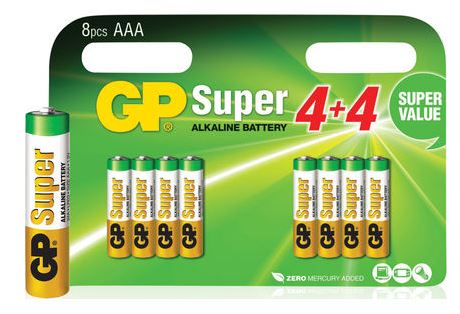 Image of 24A Super Alkaline 8x AAA Multipack