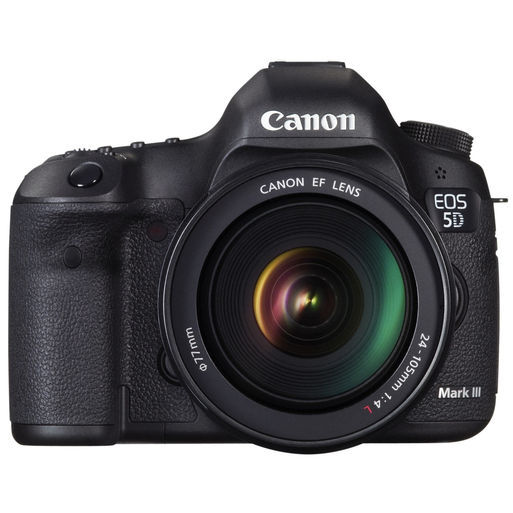 Image of Canon EOS 5D mark III + EF 24-105mm L USM iS