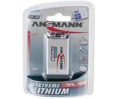Image of 1 Ansmann Lithium 9V-Block Extreme