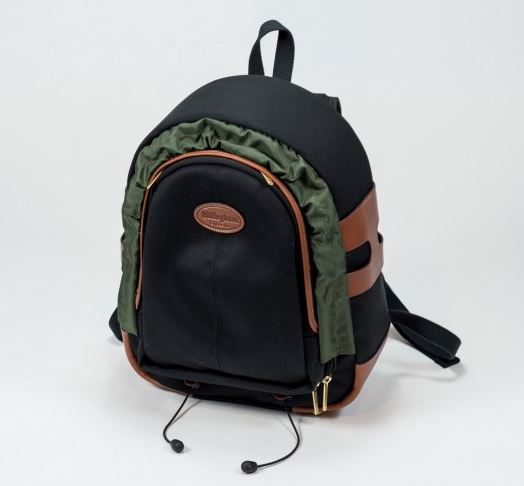 Image of Billingham 25 Rugzak Black/Tan