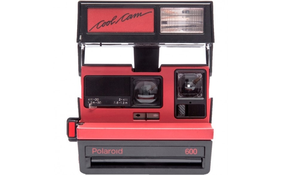 Impossible Refurbished Cool Red Camera