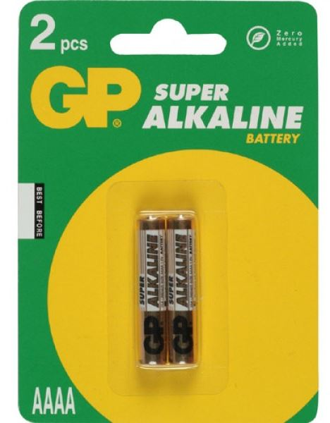 GP Batteries Super Alkaline AAAA