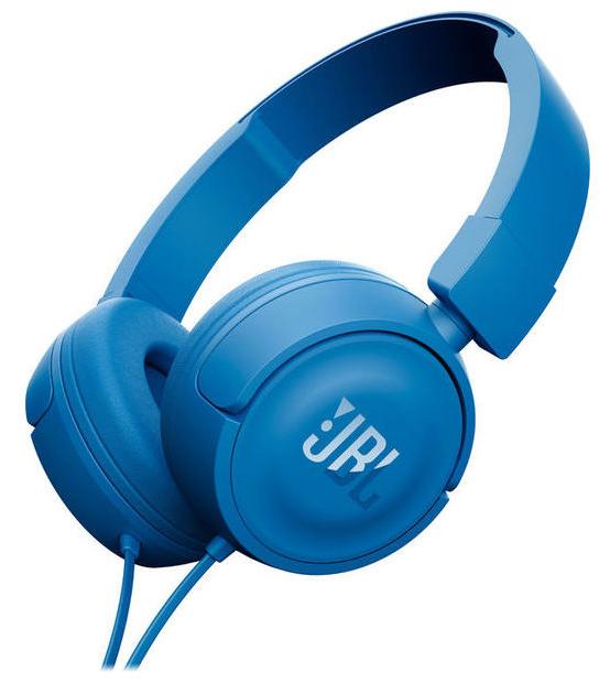 JBL Harman Koptelefoon Kabel On Ear Headset Blauw