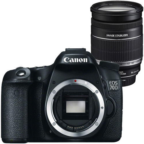 Image of Canon Eos 70D + 18-200mm