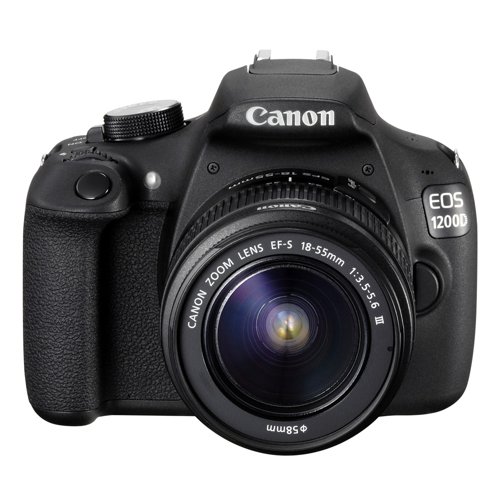 Image of Canon EOS 1200D + 18-55mm DC III