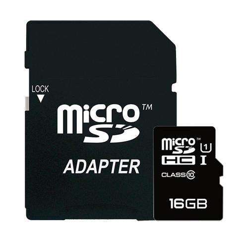 Ricoh MicroSDHC 16GB Class 10 + Adapter