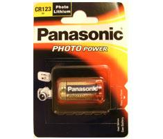 Image of 1 Panasonic Photo CR 123 A Lithium
