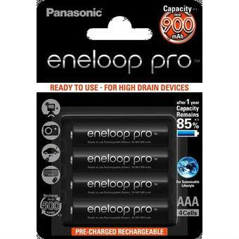 Image of 1x2 Panasonic Eneloop Pro Micro AAA 930 mAh
