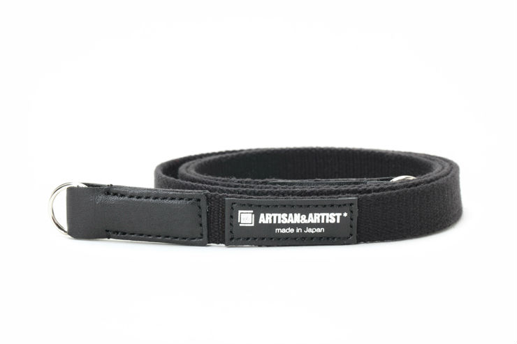 Image of Artisan & Artist ACAM 111 acrylic strap zwart