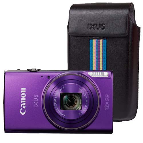 Canon iXUS 285 HS paars + GRATIS Tas