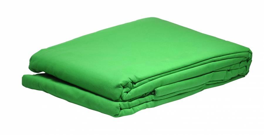 Bresser Y-9 Uitwasbaar Doek 2.5x3m Chromakey Groen